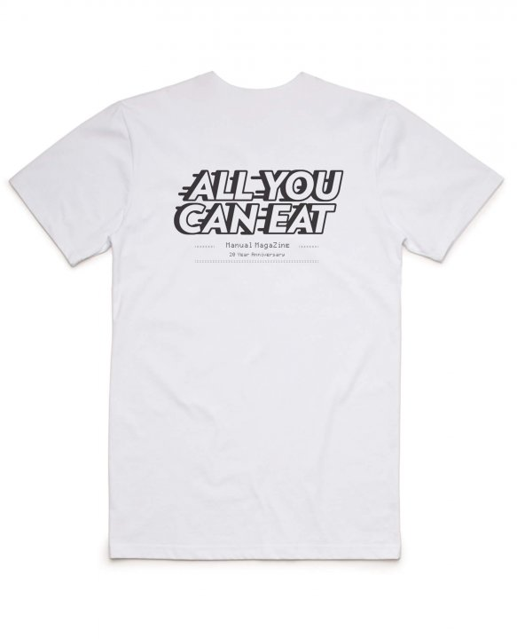 All You Can Eat T-shirt by Manual Magazine