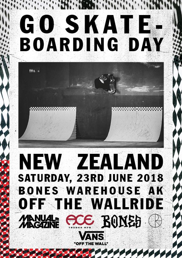 Vans Go Skateboarding Day Auckland.