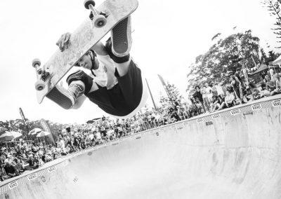 Rico Henare, frontside air.