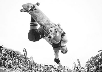 Leigh Mackenzie, backside air.