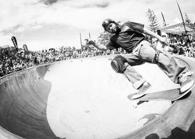 Josh Wilson, frontside tailslide.