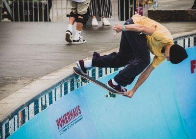Jakob Robinson, backside crailslide.