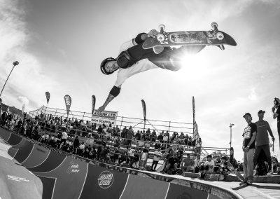 Chris Wood, backside air, Photo by David Read