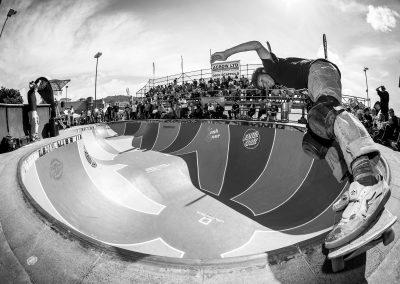 Remus Henare, backside feeble grind, Photo by David Read