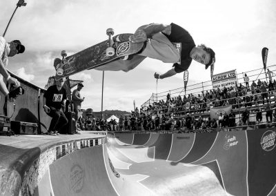 Josh Wilson, backside air, Photo by David Read