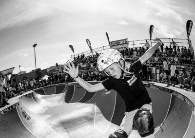 Monty Graham, Smith grind, Photo by David Read